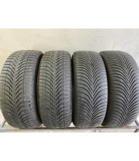 225/55R17 Michelin Alpin 5 A4 komplet opon zima 6,6mm nr758