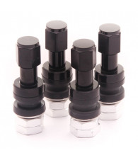 Set of Aluminum air valves JR v2 - BLACK