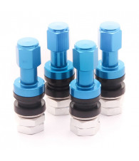 Set of Aluminum air valves JR v2 - BLUE