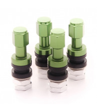 Set of Aluminum air valves JR v2 - GREEN