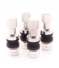 Set of Aluminum air valves JR v2 - SILVER