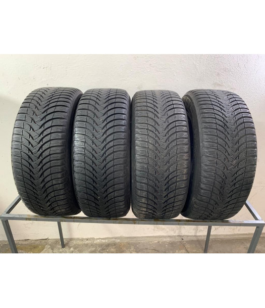 2255516 22555r16 Michelin Alpin A4 Komplet Opony Zima 80mm 1638