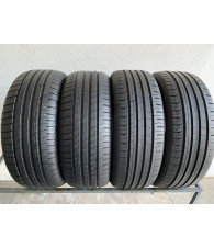 215/55R17 215/55/17 GoodYear i Continental komplet opon lato 8mm 1739