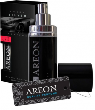 Areon Car New perfume 50ml Silver perfumy do auta
